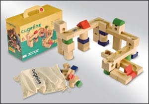 Cugolino Wooden Marble Run Encourages Creativity and Building Skills