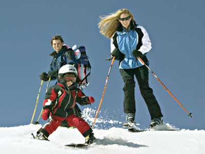 Enjoy a Winter Sport With Your Family