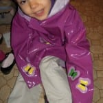 Kidorable: Matching Children Raincoats Umbrellas And Boots