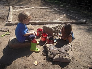 kids playing in the dirt- Family Focus Blog
