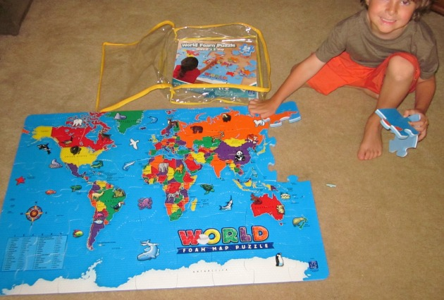 The World Map Floor Puzzle Kids Will Love By Educational Insights