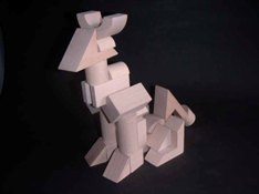 Tsumiki wooden building blocks