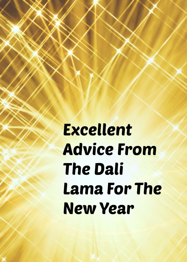 Advice From The Dali Lama For The New Year
