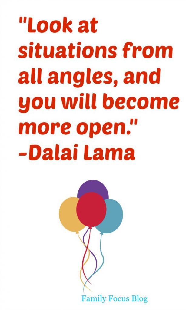 Dalai Lama Quote- all angles