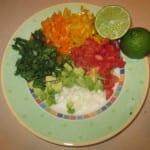 Fish Taco Recipe with Homemade Bell Pepper Avocado Salsa