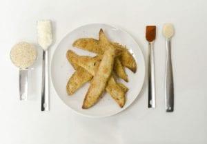 Parmesan Potato Sticks Recipe- Snack or Side