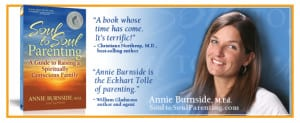 Parenting Tips for Vibrant Children from Author Annie Burnside