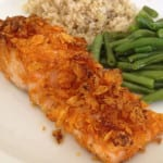 BBQ Kettle Chip-Encrusted Salmon Recipe