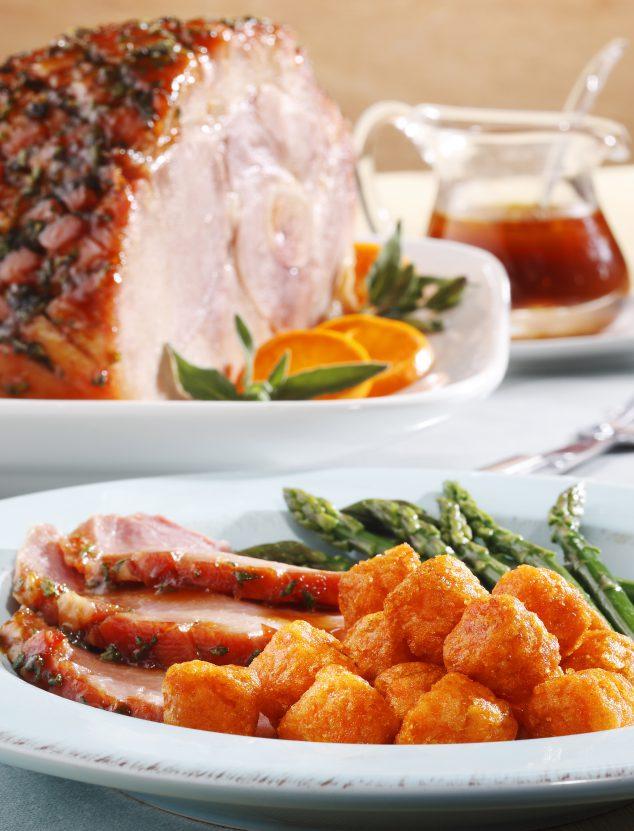 Tangerine Glazed Ham Recipe
