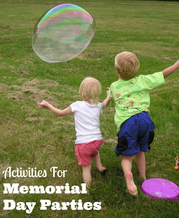 activities for memorial day