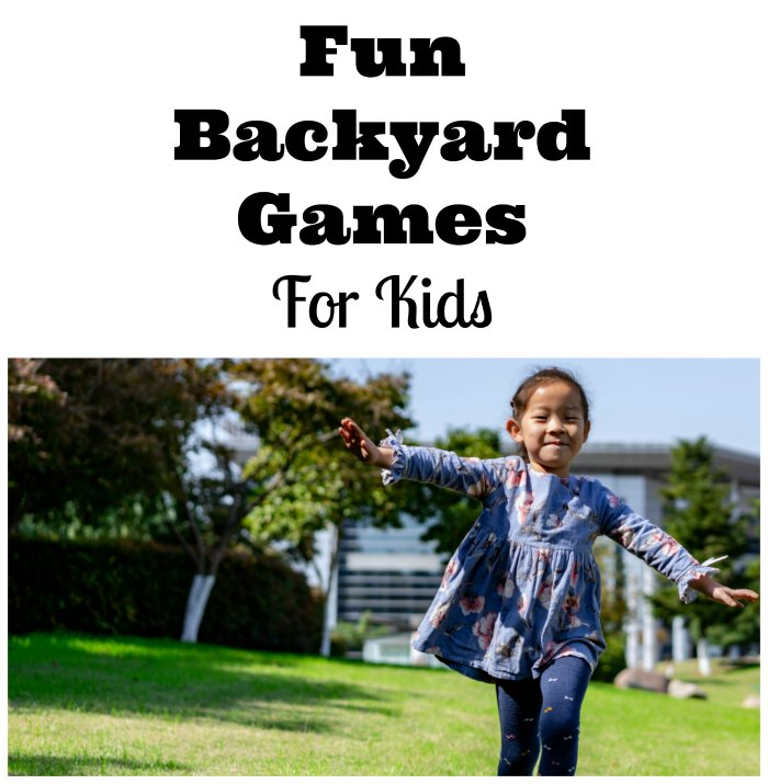 Fun Backyard Games For Kids