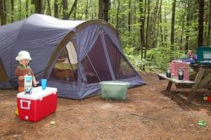 campsite child-friendly