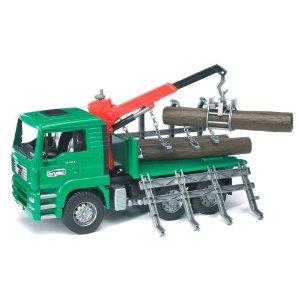 Bruder Timber Truck