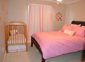 Sharing Spaces: Guest Room and Nursery Converge