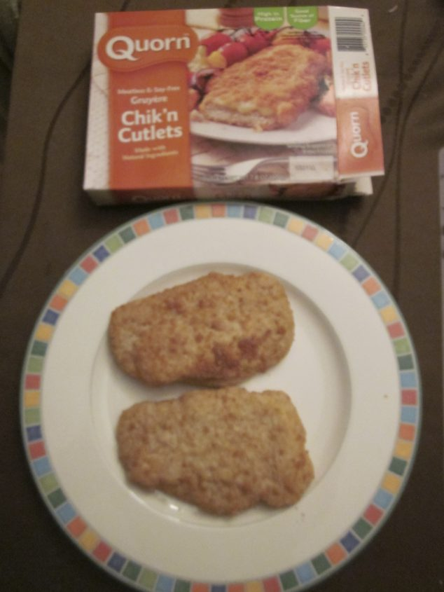 chick'n cutlets from Quorn