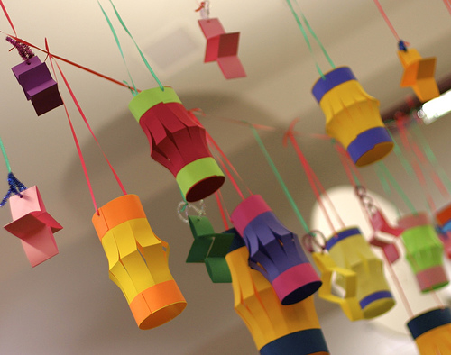 cheap homemade christmas decorations paper lanterns - Cheap Decorations