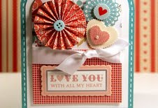 homemade valentine card