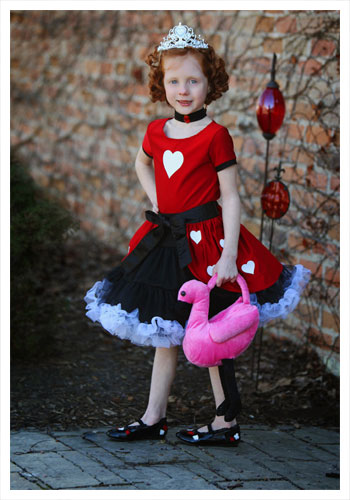 Queen of Hearts Valentine's Day Party Costume