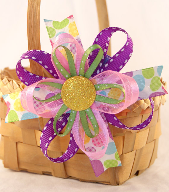 Crafty ribbon ideas for easter - Easter basket craft ideas ...