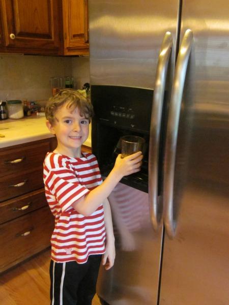 fridge with water dispenser / Family Focus Blog