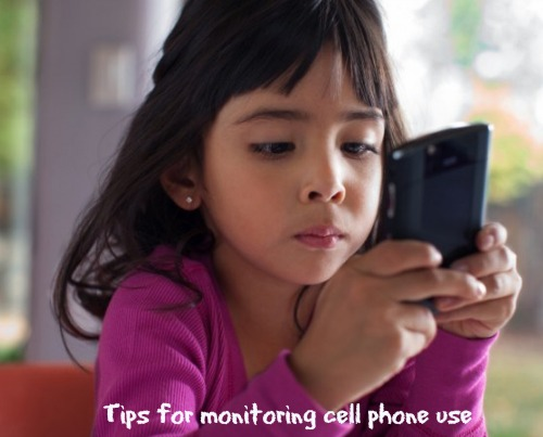 monitoring kids cell phone use