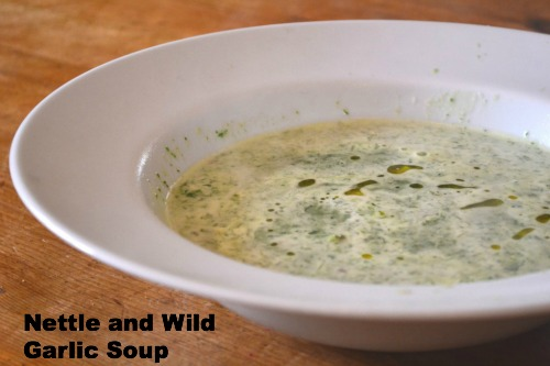 nettle and wild garlic soup / Family Focus Blog