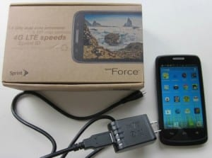 Sprint Force 4G LTE Android Smartphone Review