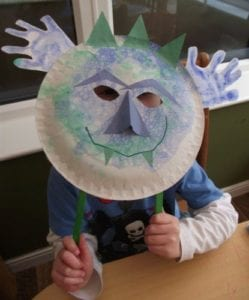 How To Make A Soap Bubble Print Monster Mask