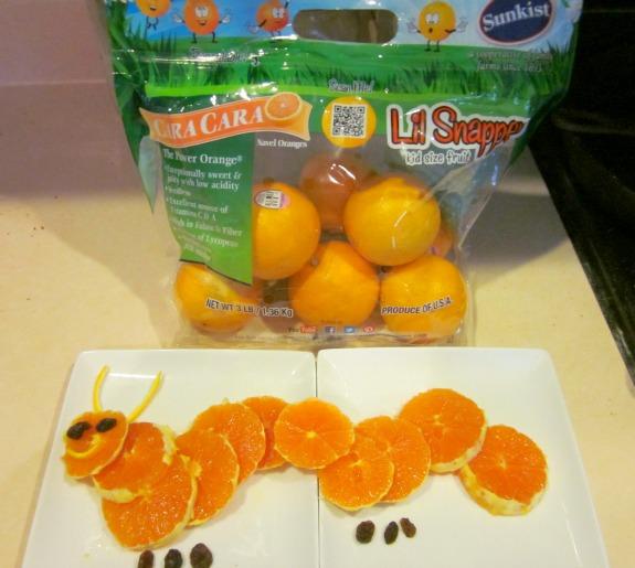 orange caterpillar / Family Focus Blog