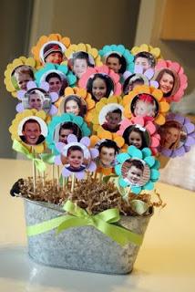 green teach gifts- class flowers / Family Focus Blog