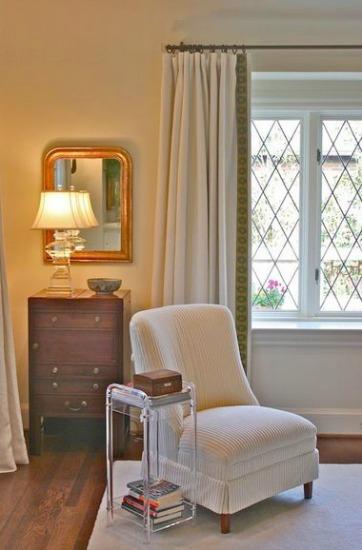 curtain trim detail- Decor Finishing Touches / Family Focus Blog