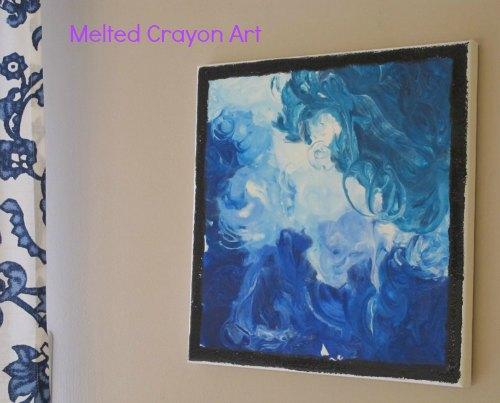 green teacher gifts- melted crayon art / Family Focus Blog