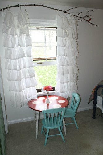 5 Ideas For Diy Curtain Rods And Finials