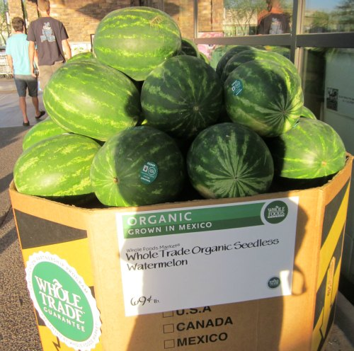 whole trade watermelon at whole foods scottsdale