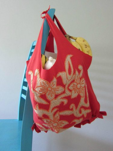3 upcycled tshirt crafts- DIY tote bag