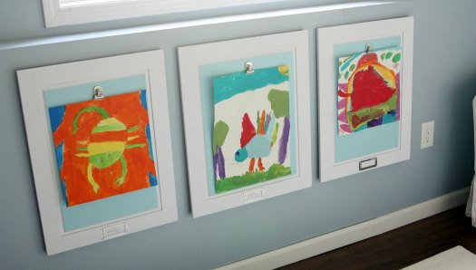 Incorporating Kid S Artwork Into Your Decor