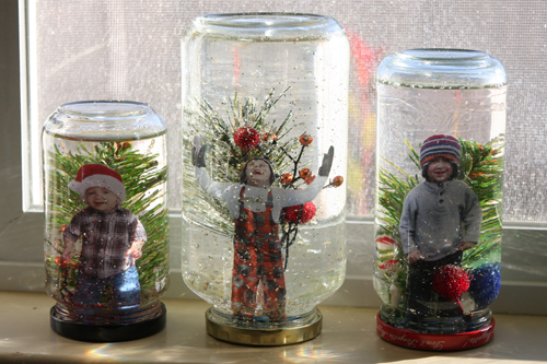 homemade snow globes- 5 kids crafts / Family Focus Blog