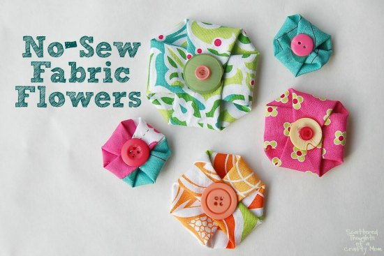 No Sew Flowers