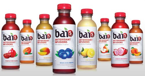 Bai5 antioxidant infusion drinks