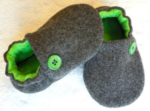upcycled baby shoes / Family Focus Blog