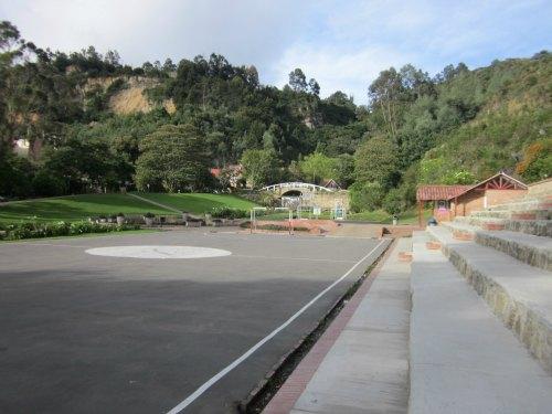 Claustro Moderno soccer field