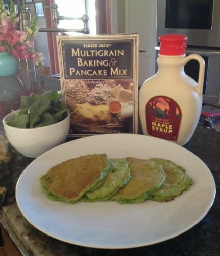 Green Hornet Pancakes