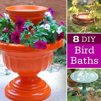 Fun Garden Ideas kids frozen garden art fun garden ideas that will make your kids love outdoors Diy Bird Bath Ideas