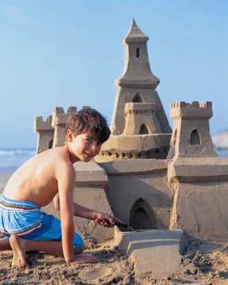 build a sand castle