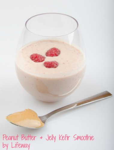 Healthy Lunchbox Meals- kefir smoothie