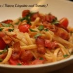 BLT Pasta (Bacon Linguine Tomato Pasta Recipe)