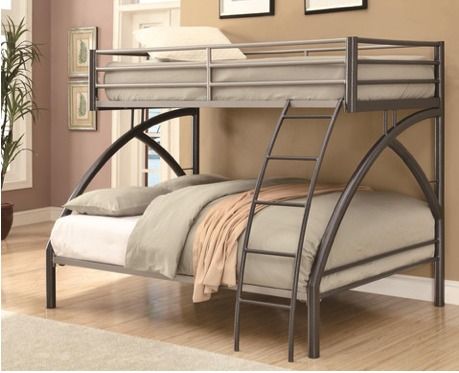 Awesome Modern Twin over full bunk bed