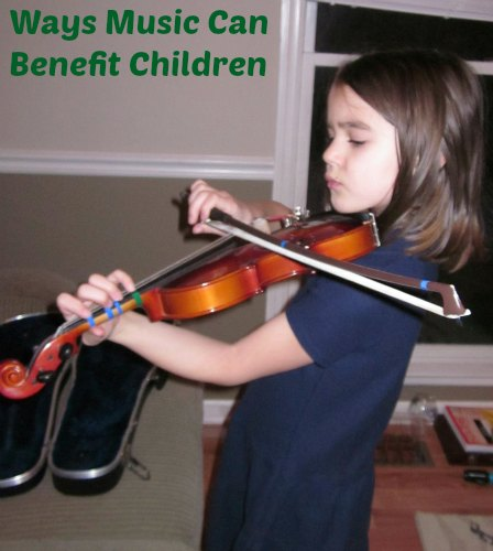 ways music can benefit children