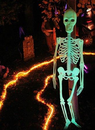 Diy haunted house lighting