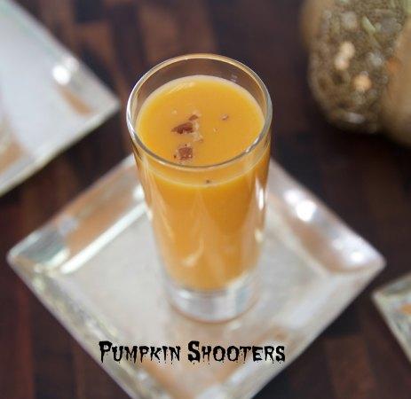 Pumpkin Soup Shooters Halloween recipe